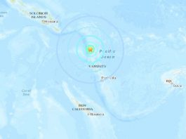 M6.6 earthquake hits Vanuatu, M6.6 earthquake hits Vanuatu on January 19