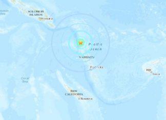 M6.6 earthquake hits Vanuatu, M6.6 earthquake hits Vanuatu on January 19