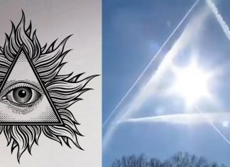 sing in the sky, illuminati all seeing eye appears in sky, sky all seeing eye video, illuminati all seeing eyes appear in the sky video