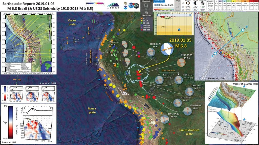 brazil earthquake january 5 2018