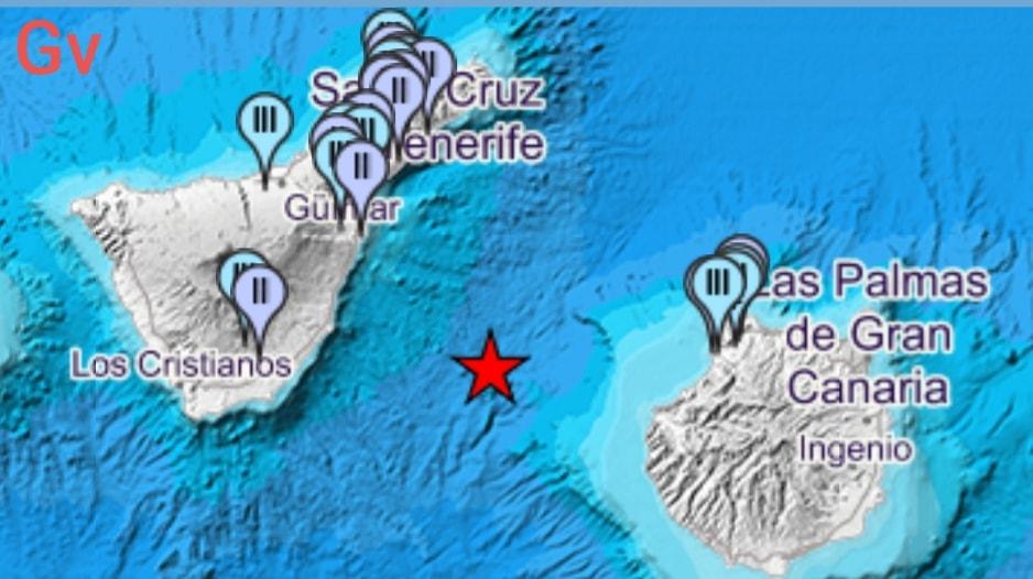 canary islands earthquake january 18 2019, M4.2 earthquake canary islands earthquake january 18 2019