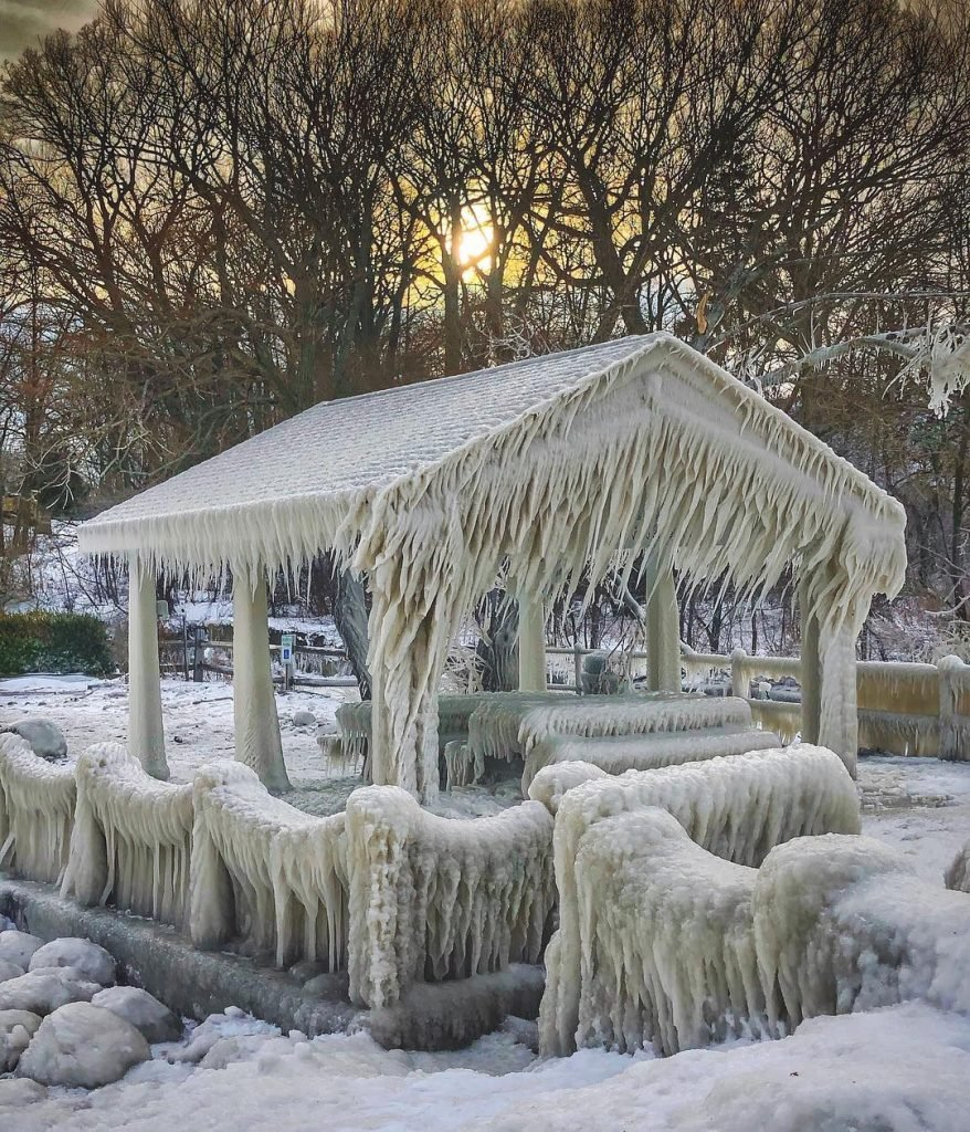 ice sculptures lake erie, ice sculptures lake erie january 2019, ice sculptures lake erie pictures, ice sculptures lake erie video