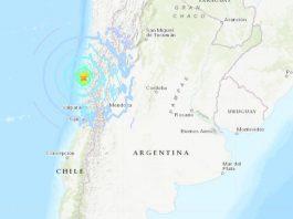 earthquake chile january 19 2019, strong earthquake chile january 19 2019, M6.7 strong earthquake chile january 19 2019