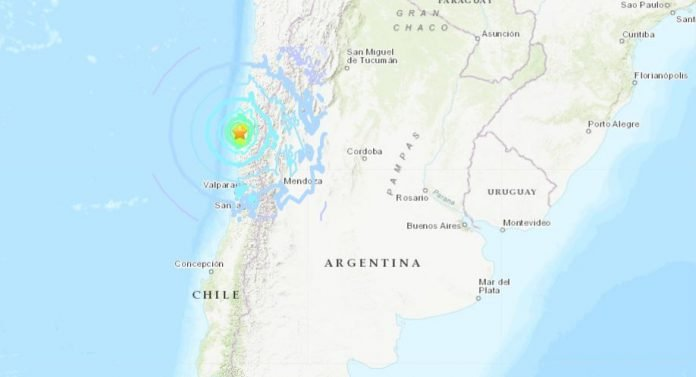earthquake chile january 19 2019, strong earthquake chile january 19 2019, M6.7 strong earthquake chile january 19 2019