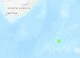 strong earthquake prince edward islands antarctica, strong earthquake prince edward islands antarctica map