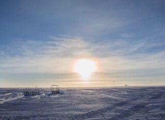 sun parallel horizon poles, sun motion parallel horizon poles, sun parallel horizon poles video