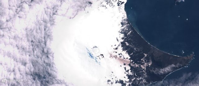 volcano eruption south sandwich island, volcano eruption south sandwich island 2019, volcano eruption south sandwich island satellite image