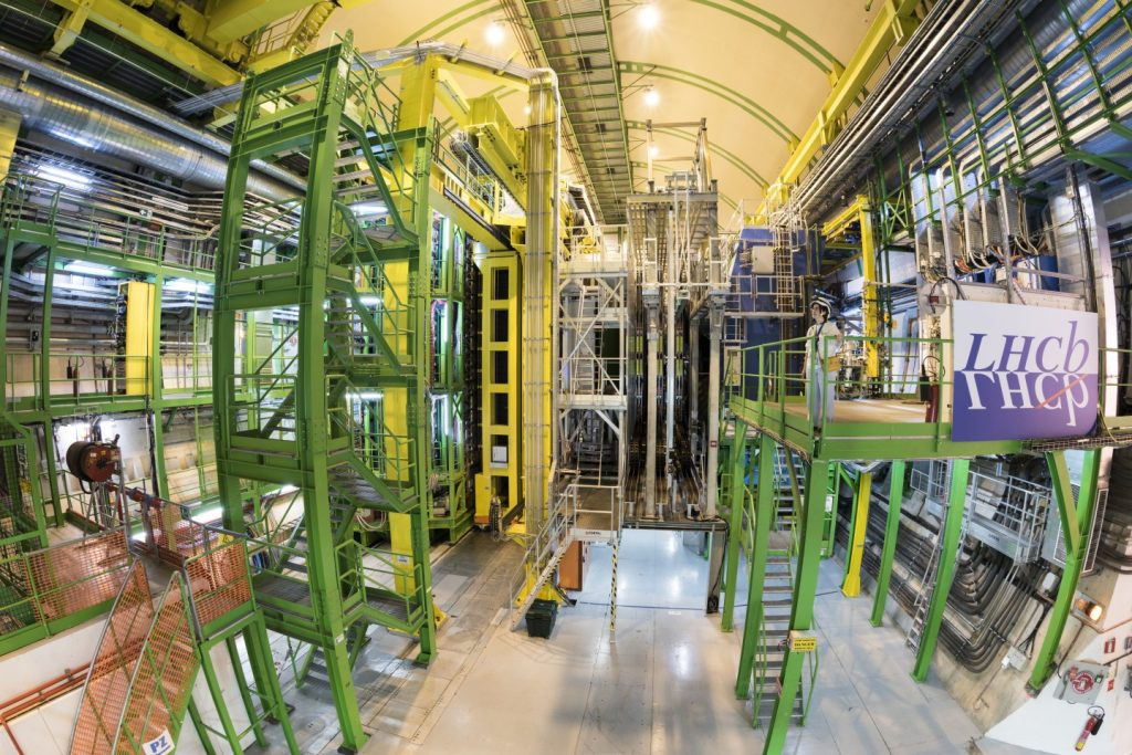 LHCb experiment Large hadron collider CERN new particule, cern new particule, new particule discovered at cern february 2019