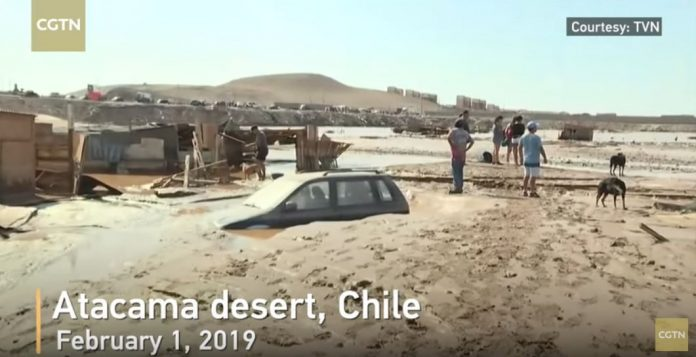 atacama desert floods february 2019, atacama desert floods february 2019 video, atacama desert floods february 2019 pictures