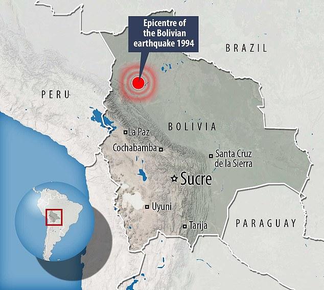 bolivia earthquakes reveals underground mountain range, underground mountain range transition zone, transition zone earth, mountain transition zone