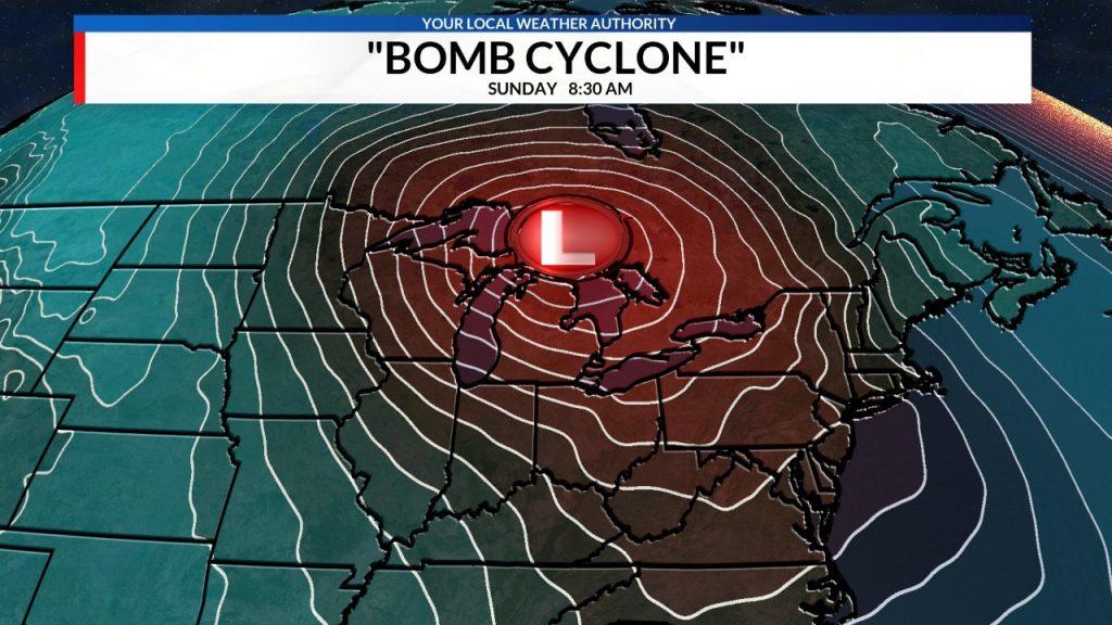 bomb cyclone, bomb cyclone US, bomb cyclone february 2019