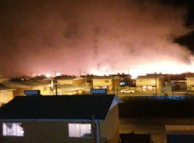 chile fires, chile wildfires, chile fires february 2019, chile fires video