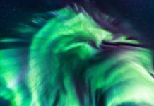 dragon aurora northern lights