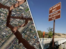 earthquake california, san andreas fault earthquake california, earthquake california february 2019