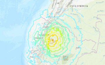 earthquake ecuador peru colombia feb 22 2019, M7.5 earthquake ecuador peru colombia feb 22 2019