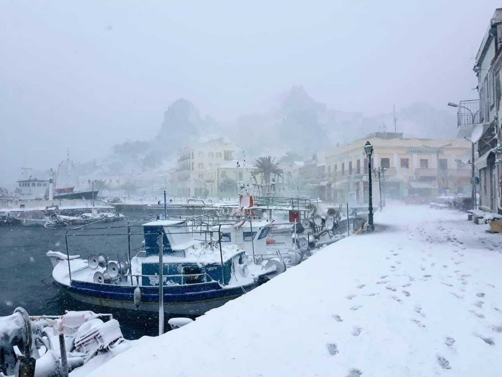 greece blizzard snow, greece blizzard snow video, greece blizzard snow pictures, greece blizzard snow february 2019