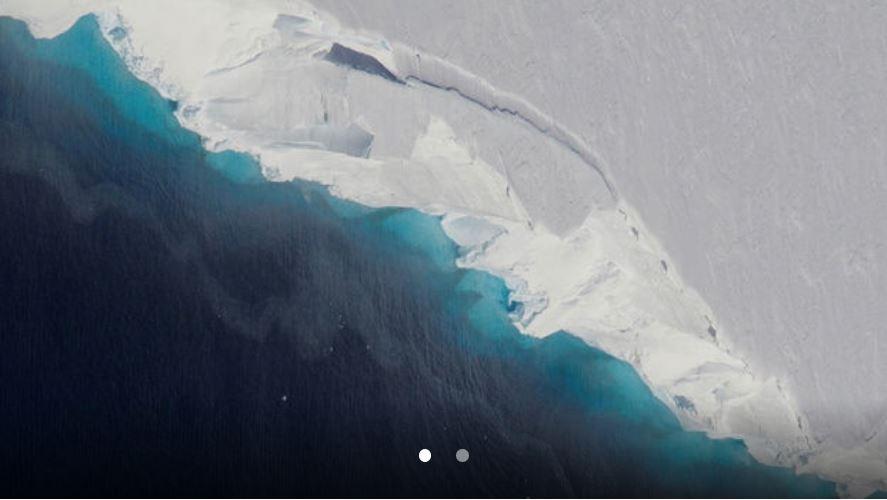huge cavity antarctica glacier, huge cavity antarctica glacier february 2019, huge cavity antarctica glacier photo