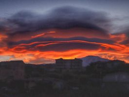 lenticular clouds etna, lenticular clouds etna pictures, lenticular clouds etna february 2019
