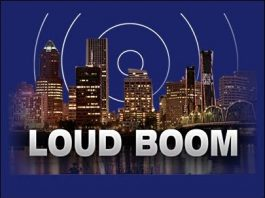 loud booms february 2019 USA, loud booms los angeles, loud booms atlanta, loud booms louisiana