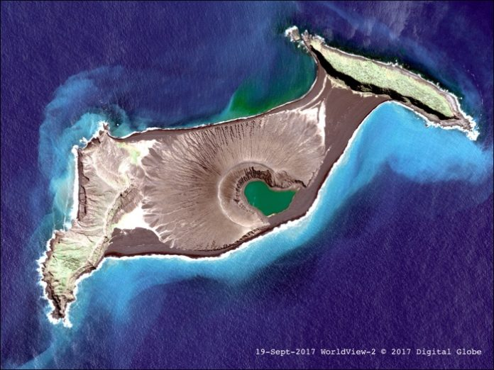 hunga tonga new volcanic island