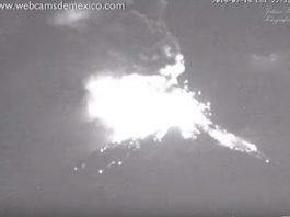 popocatepetl volcano eruption Feb 24 2019