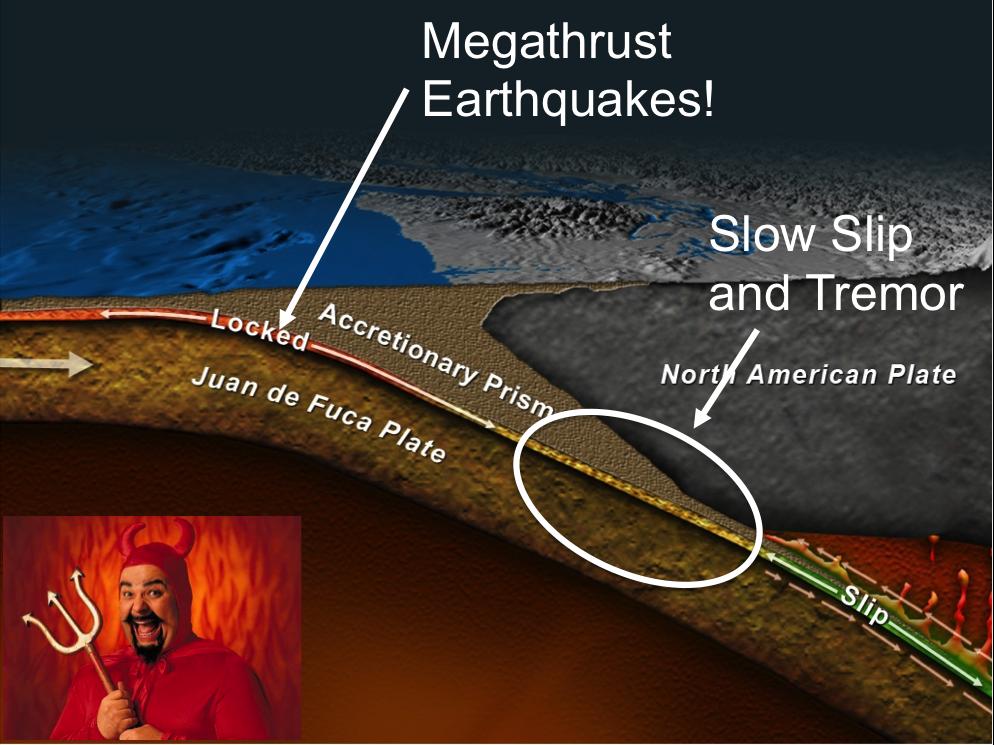 slow slip earthquake, slow slip event, slow slip event map, map of slow slip events