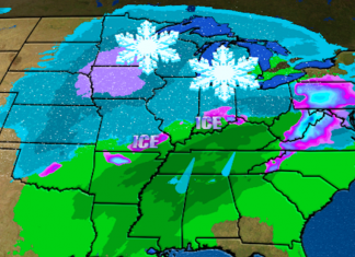 winter storm petra, Winter Storm Petra: Snow, ice, torrential rain brings weather havoc to 39 states, 200 million people
