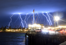 Anomalous Lightning Storm Nearly 1 500 Pulses Of Recorded Off Southern California Coast In 5 Minutes As Atmospheric River Engulfs The State