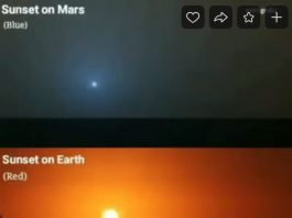 blue sunset mars orange sunset earth, blue sunset mars orange sunset earth video, blue sunset mars orange sunset earth picture
