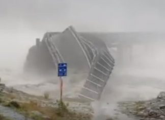 motorway bridge collapse new zealand storm, motorway bridge collapse new zealand storm video, motorway bridge collapse new zealand storm march 2019