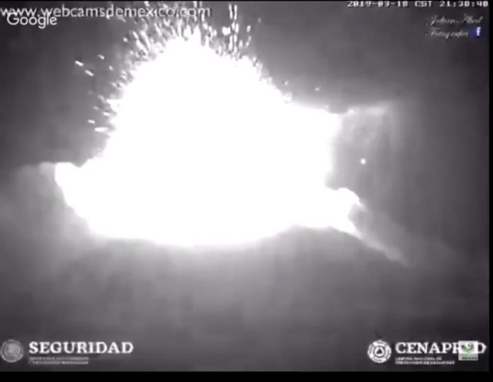 popocatepetl volcano eruption march 18 2019, popocatepetl volcano eruption march 18 2019 video, popocatepetl volcano eruption march 18 2019 picture