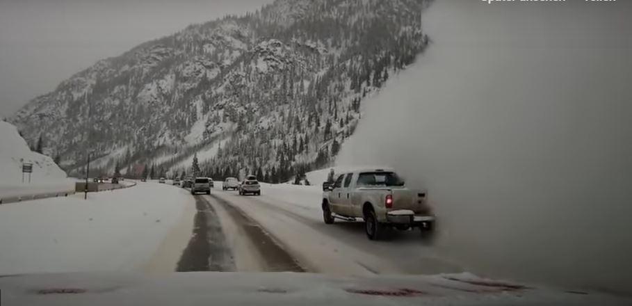 snow avalanche engulfs car colorado, snow avalanche engulfs car colorado video, snow avalanche engulfs car colorado march 2019