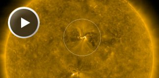 EARTH-DIRECTED SOLAR FLARE AND CME, EARTH-DIRECTED SOLAR FLARE AND CME MARCH 2019, EARTH-DIRECTED SOLAR FLARE AND CME VIDEO MARCH 2019