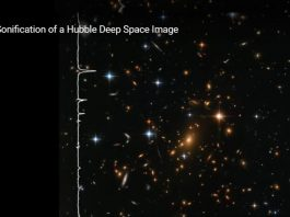 space sound, Noise of stars and galaxies