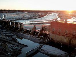 Spencer dam picture, Destroyed Spencer dam picture, Destroyed Spencer dam picture march 2019