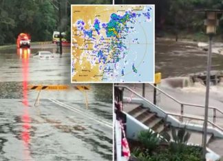sydney rain flash flooding, sydney rain flash flooding video, sydney rain flash flooding pictures