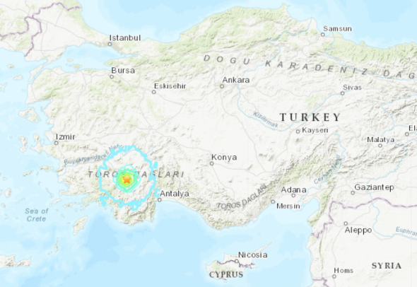 turkey earthquake, turkey earthquake map, turkey earthquake march 20 2019