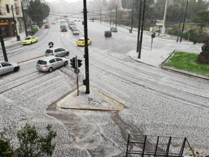 athens greece hailstorm, athens greece hailstorm video, athens greece hailstorm pictures, athens greece hailstorm april 15 2019