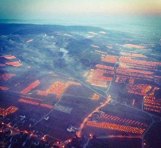 burgundy wineyards fire, burgundy wineyards fire frost, frost protection wineyards, burgundy wineyards fire video, burgundy wineyards fire pictures