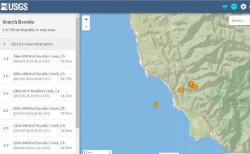 earthquake swarm california, earthquake swarm california santa cruz mountains