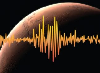 marsquake, marsquake video, mars earthquake, earthuqake mars audio, Mars lander InSight picks up what's likely 1st detected marsquake