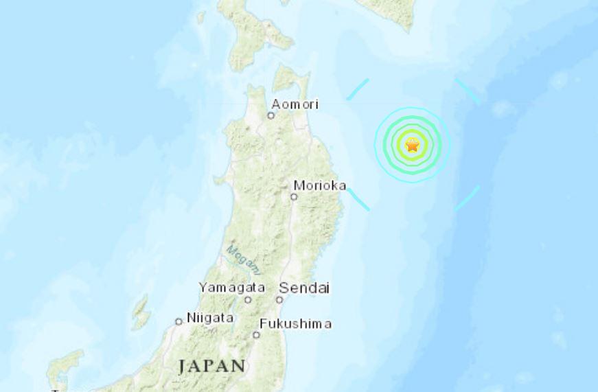 M6.1 earthquake hits off Honshu coast, Japan on April 11 2019, M6.1 earthquake hits off Honshu coast, Japan on April 11 2019 map, M6.1 earthquake hits off Honshu coast, Japan on April 11 2019 video, M6.1 earthquake hits off Honshu coast, Japan on April 11 2019 pictures