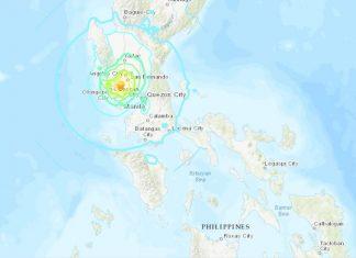 philippines earthquake, philippines earthquake april 22 2019, large earthquake philippines april 2019, M6.1 earth