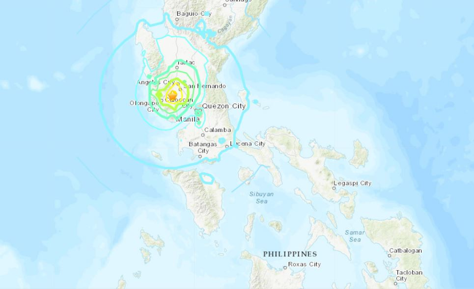 philippines earthquake, philippines earthquake april 22 2019, large earthquake philippines april 2019, M6.1 earth