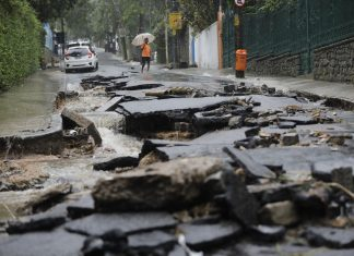 rio brazil floods, rio brazil floods video, rio brazil floods april 2019, rio brazil floods pictures, Powerful, 'abnormal' rains lash Rio de Janeiro, at least six dead