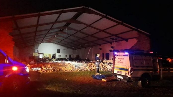 south africa church collapse, south africa church collapse video, south africa church collapse picture