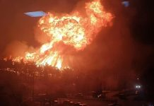 south korea fire april 2019, south korea fire april 2019 video, south korea fire april 2019 pictures, Apocalyptic fire in South Korea in April 2019