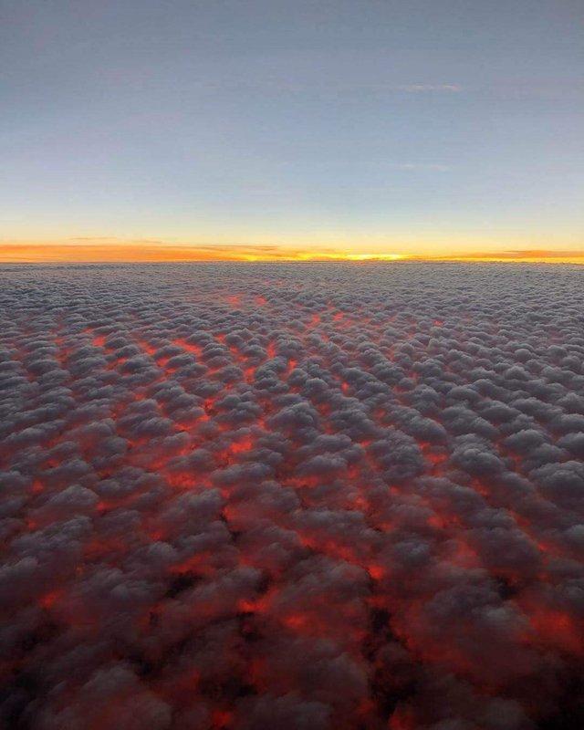 strange sky over Hawaii, glimpse into hell hawaii