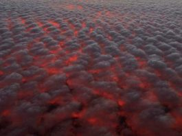 strange sky over Hawaii, glimpse into hell hawaii
