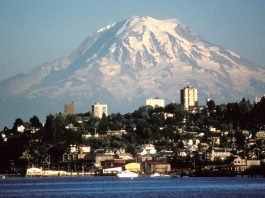 Mount Rainier lahar seattle tacoma